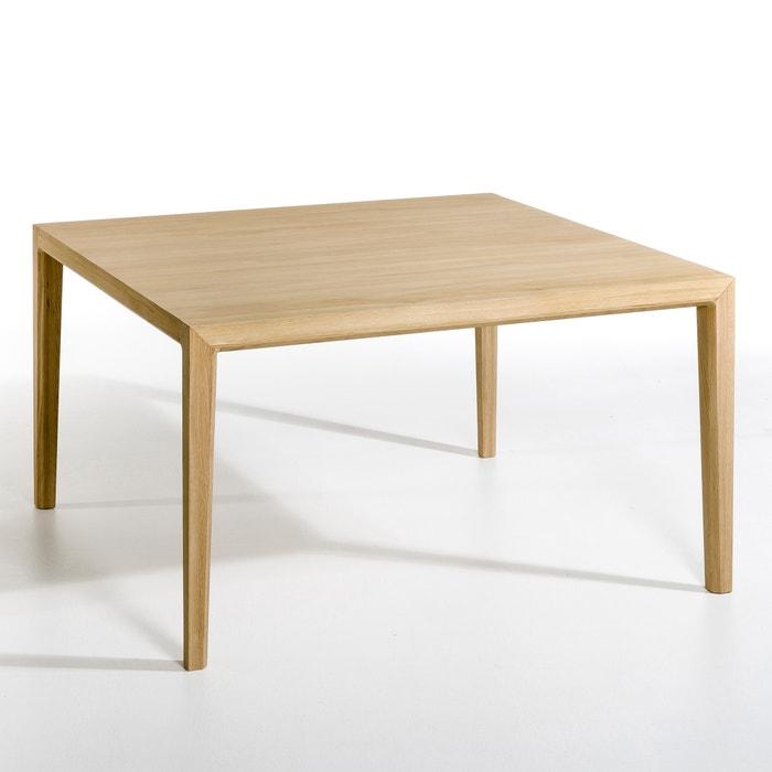 Vierkante tafel nizou design e gallina eikenhout am pm la redoute - Am pm stoelen ...