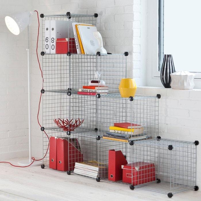 cubes rangement modulo lot de 10 la redoute interieurs la redoute. Black Bedroom Furniture Sets. Home Design Ideas