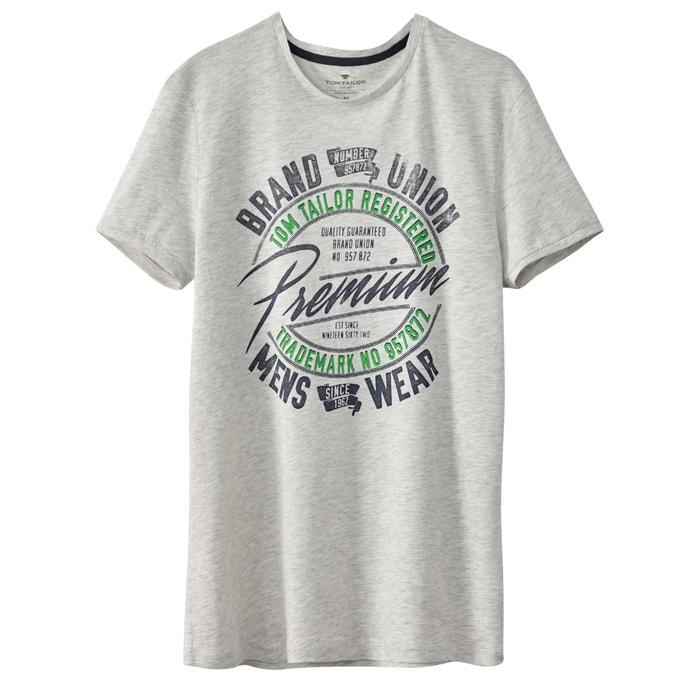 Imagen de Camiseta con motivo estampado delante TOM TAILOR