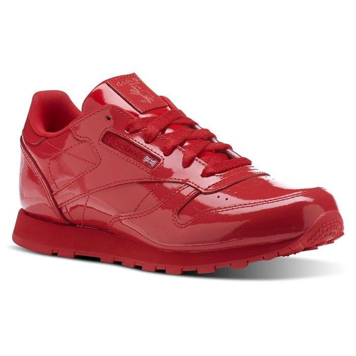 dfbf2533f614f Basket reebok classic leather patent junior - cn2062 rouge Reebok Classics