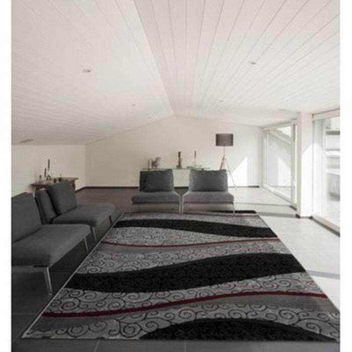 Tapis de salon avec effet 3d argent trump argent allotapis la redoute - La redoute tapis salon ...