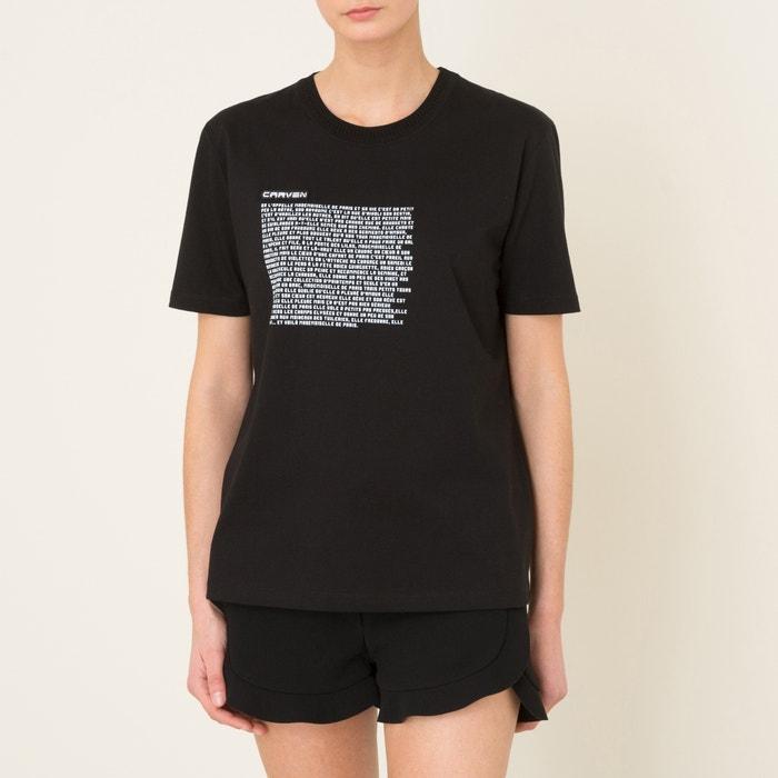 T-Shirt mit Schriftzug  CARVEN image 0