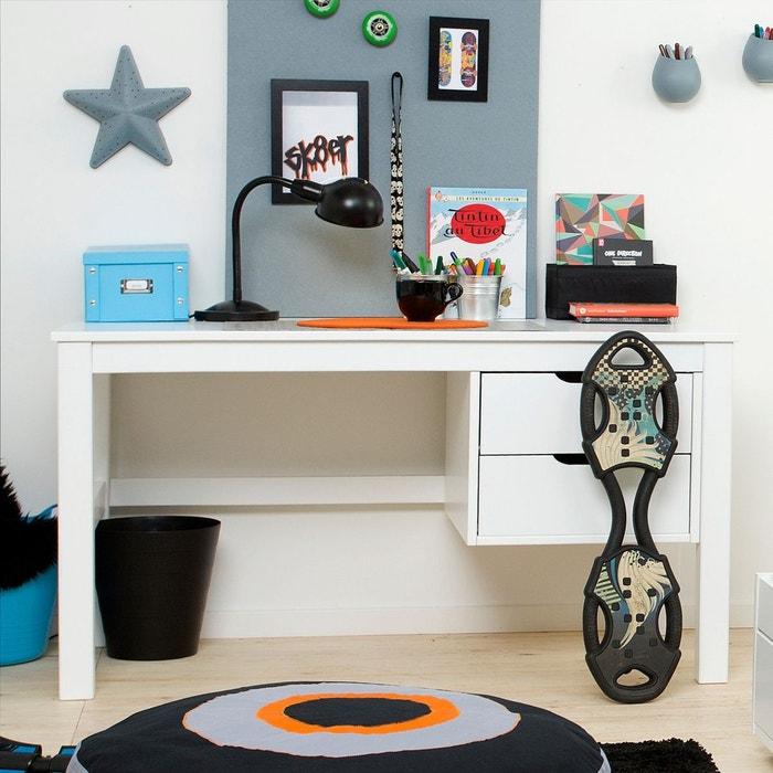 bureau enfant 2 tiroirs blanc alfred et compagnie la redoute. Black Bedroom Furniture Sets. Home Design Ideas