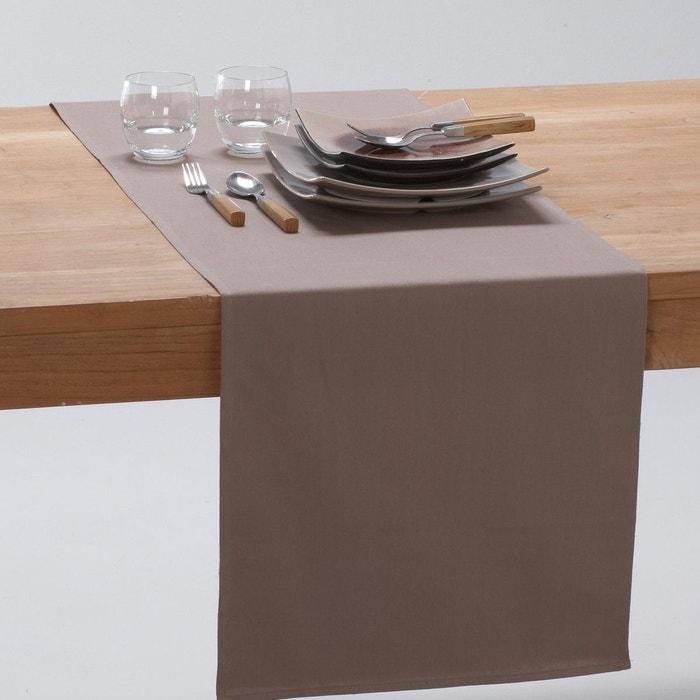 Chemin de table pur coton trait anti t ches sc - Chemin de table anti tache ...