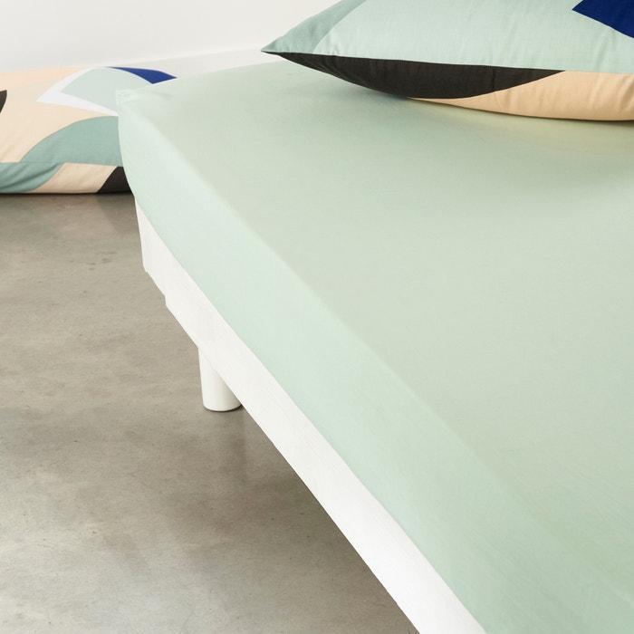 Image Drap-housse, pur coton, Carlen La Redoute Interieurs