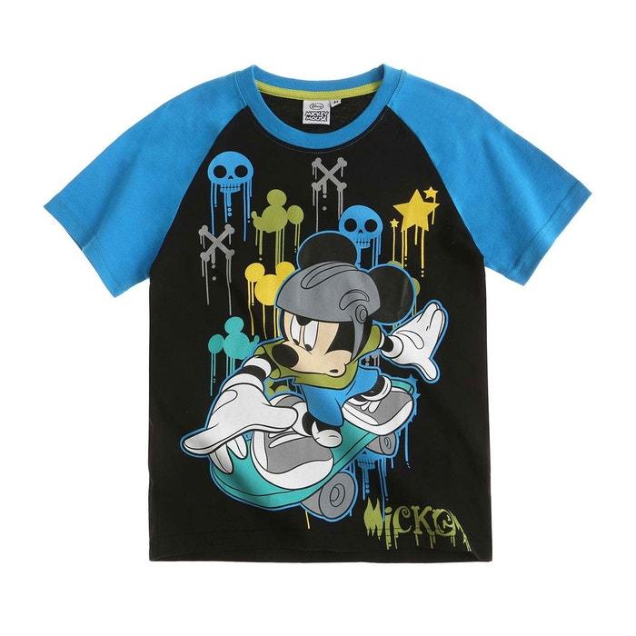 d05174c5ac74d Tee-shirt garçon noir Mickey