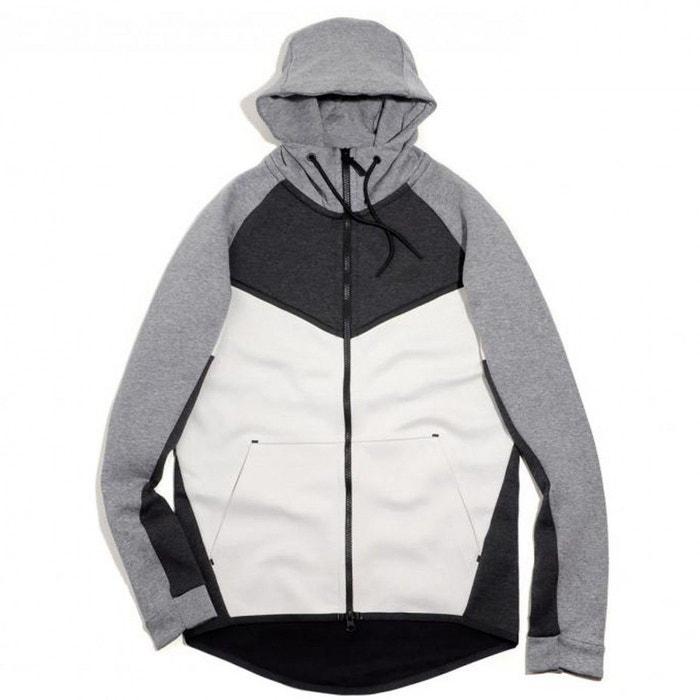 Sweat à capuche nike sportswear tech fleece windrunner - 885904-032 gris  Nike  bcc69ad3f1f