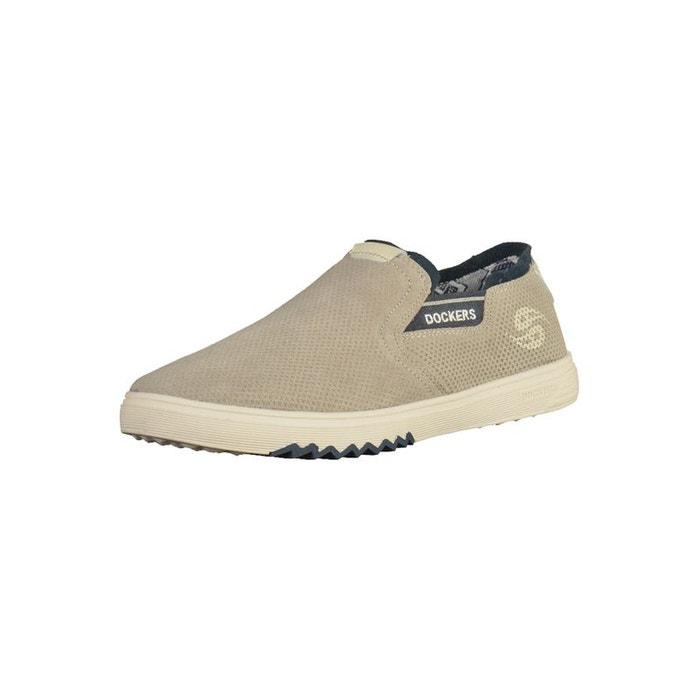 release date bc06d a9b8f Sneaker couleur bleu   gris Dockers By Gerli La Redoute GH8HUA1Z -  destrainspourtous.fr