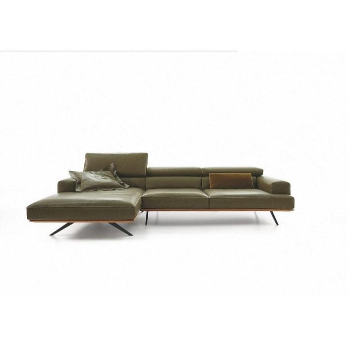 canap avec chaise longue large profondeur assise. Black Bedroom Furniture Sets. Home Design Ideas