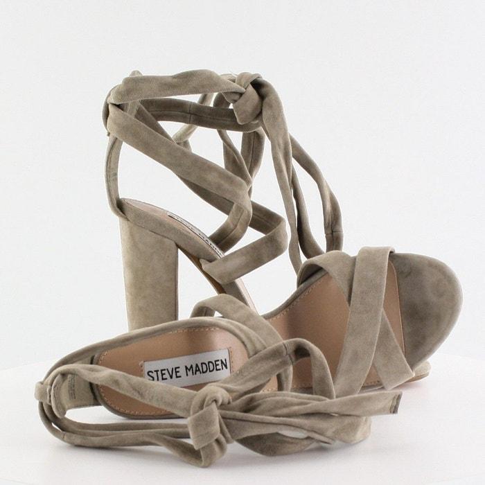 Sandales à talons et lacets montants Steve Madden