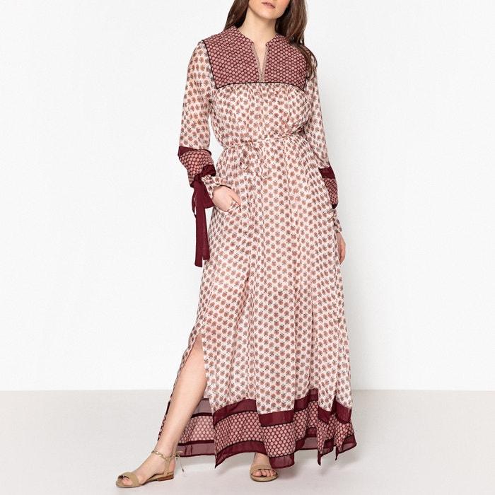 Folk Print Maxi Dress  MAISON SCOTCH image 0