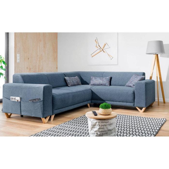 canap d 39 angle panoramique bella bobochic la redoute. Black Bedroom Furniture Sets. Home Design Ideas
