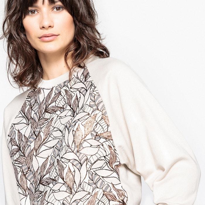afbeelding Sweater in jacquard met metallic vezels La Redoute Collections