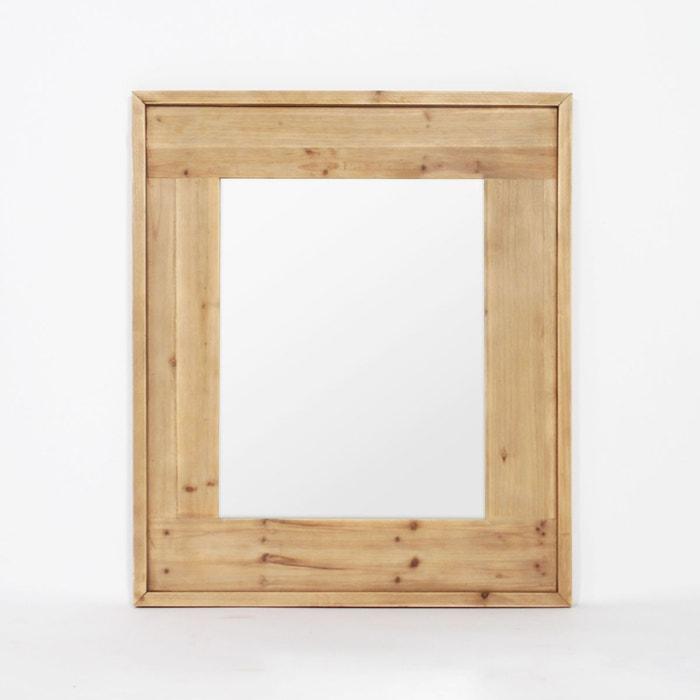 miroir contour bois y23 bois made in meubles la redoute. Black Bedroom Furniture Sets. Home Design Ideas