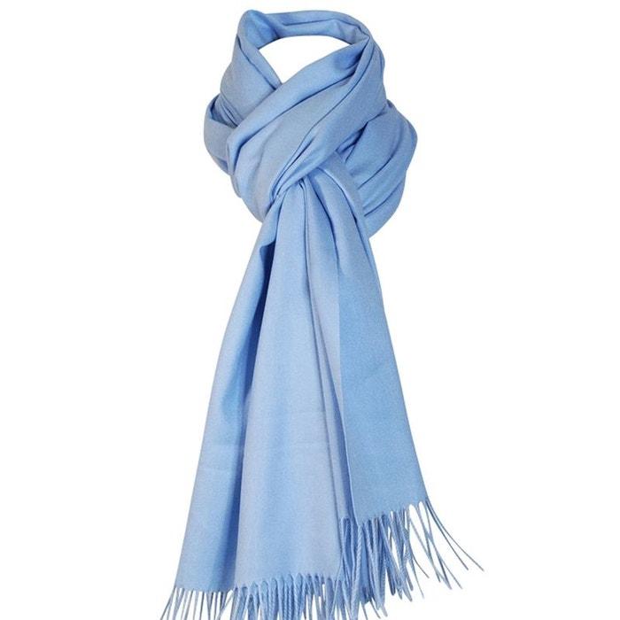 Echarpe cachemire ciel bleu ciel Chapeau-Tendance   La Redoute bd5646c80ad