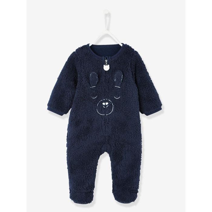 9d197cfc49569 Surpyjama bébé toucher peluche Vertbaudet