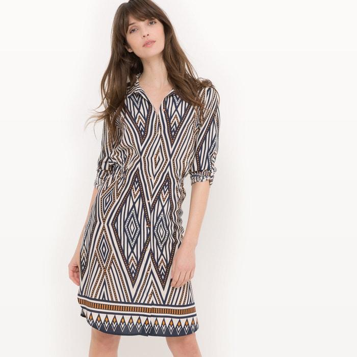 Image Long-Sleeved Dress with Elasticated Waist VILA