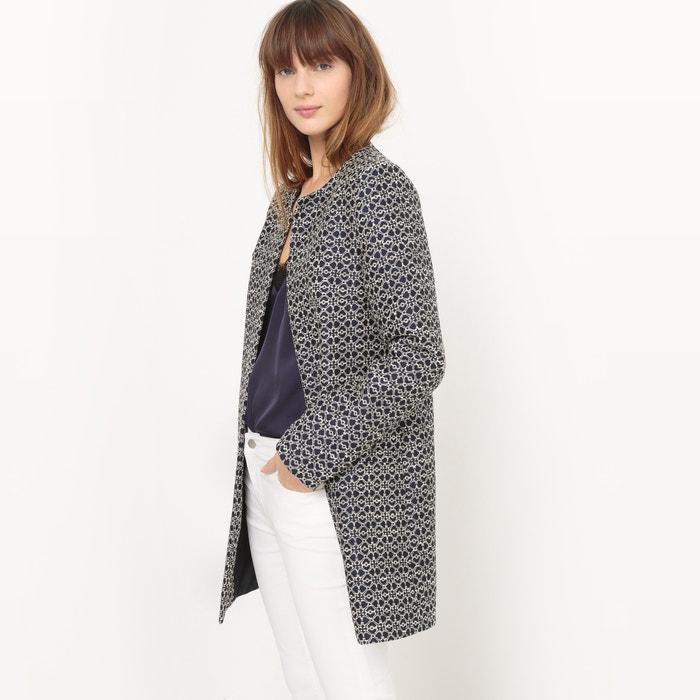 Jacquard Coat  La Redoute Collections image 0