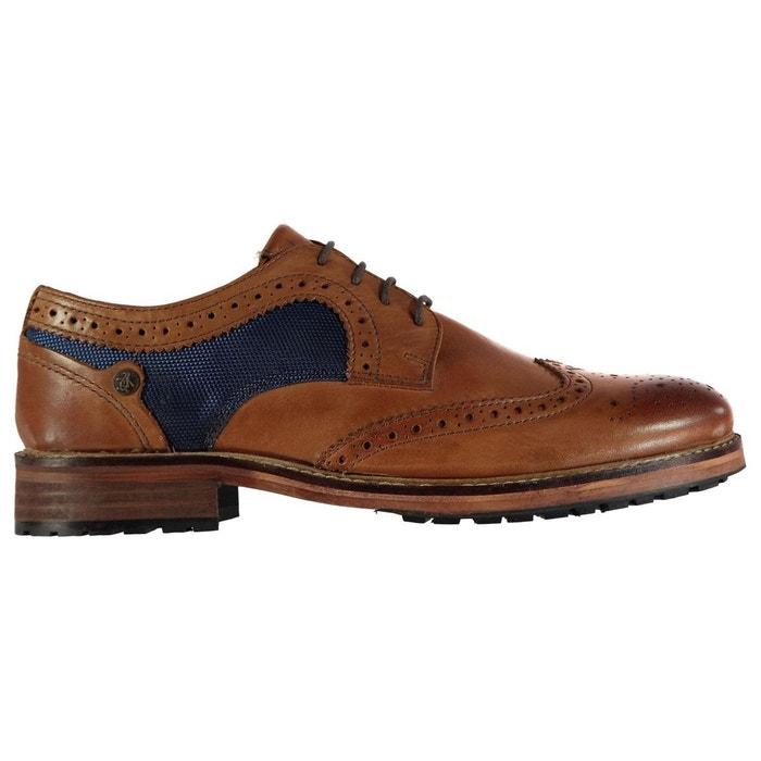 Chaussures richelieu à lacets tan Original Penguin