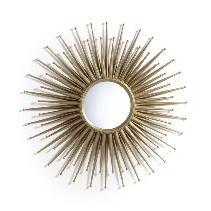 miroir soleil 78 cm nihada laiton vieilli am pm la redoute. Black Bedroom Furniture Sets. Home Design Ideas