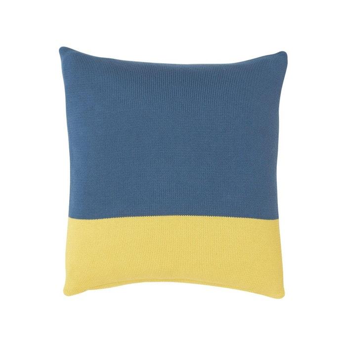 Housse de coussin paysage bleu olivier desforges la redoute - Housse de fauteuil la redoute ...