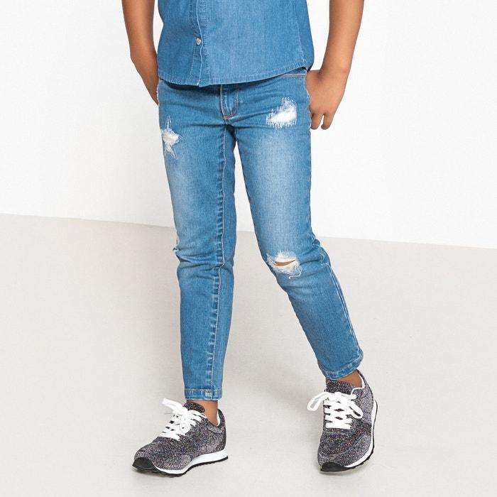 Jeans skinny con effetto used 3-12 anni  La Redoute Collections image 0