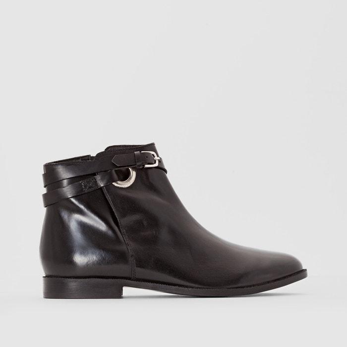 Image Boots pelle dettaglio cinturino R studio