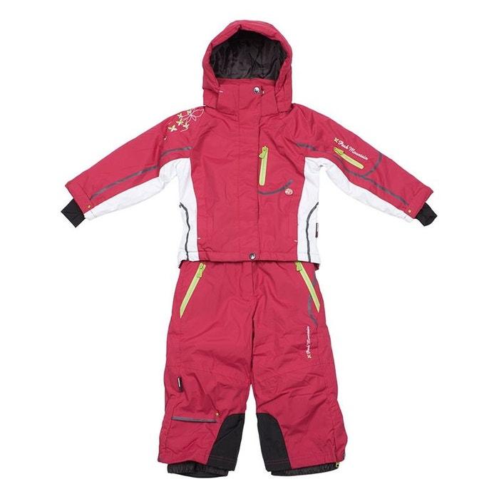 peak mountain ensemble de ski fille fauline fuschia peak. Black Bedroom Furniture Sets. Home Design Ideas