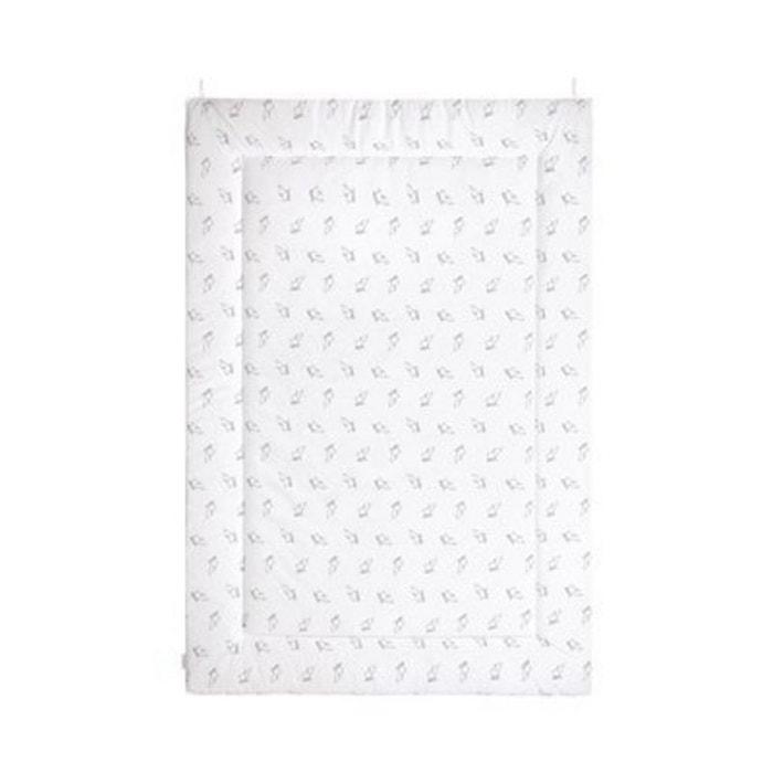 Tapis Blanc Argenté : Bornino home le tapis d éveil éléphant cm