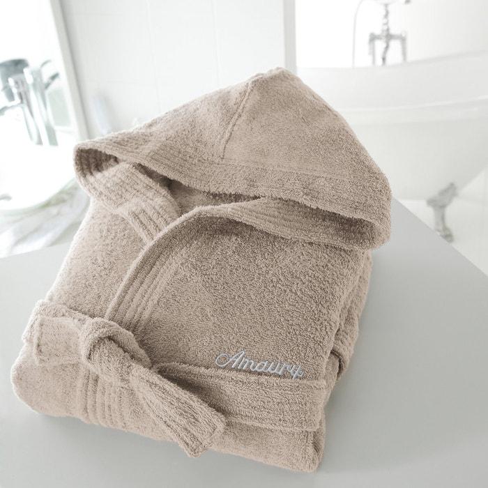 Hooded Bathrobe, 350 g/m²  La Redoute Interieurs image 0