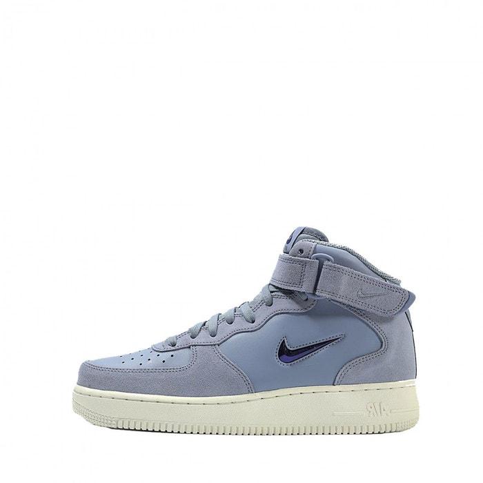 newest b7fed a8550 Basket nike air force 1 07 mid lv8 - 804609-402 bleu Nike   La Redoute