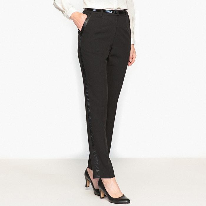 Image Pantalon couture, bandes satinées ANNE WEYBURN