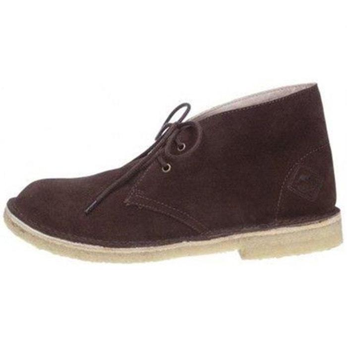 Bottines  /  boots cuir  marron Roadsign  La Redoute