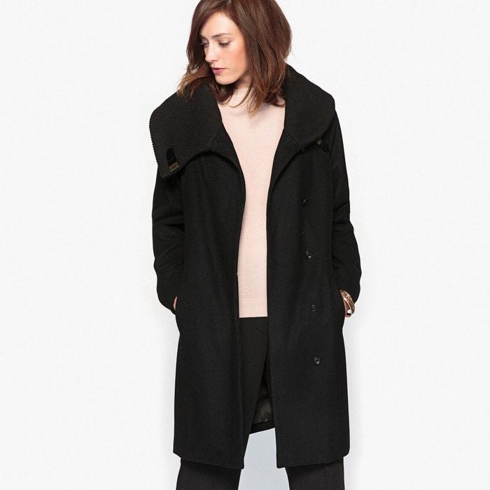manteau noir anne weyburn la redoute. Black Bedroom Furniture Sets. Home Design Ideas