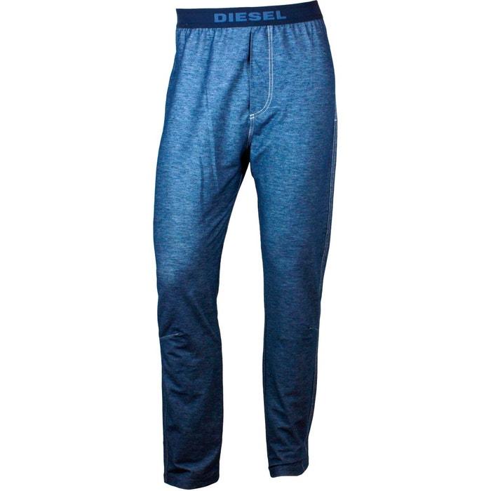 pantalon de pyjama bleu denim julio pour homme bleu diesel la redoute. Black Bedroom Furniture Sets. Home Design Ideas