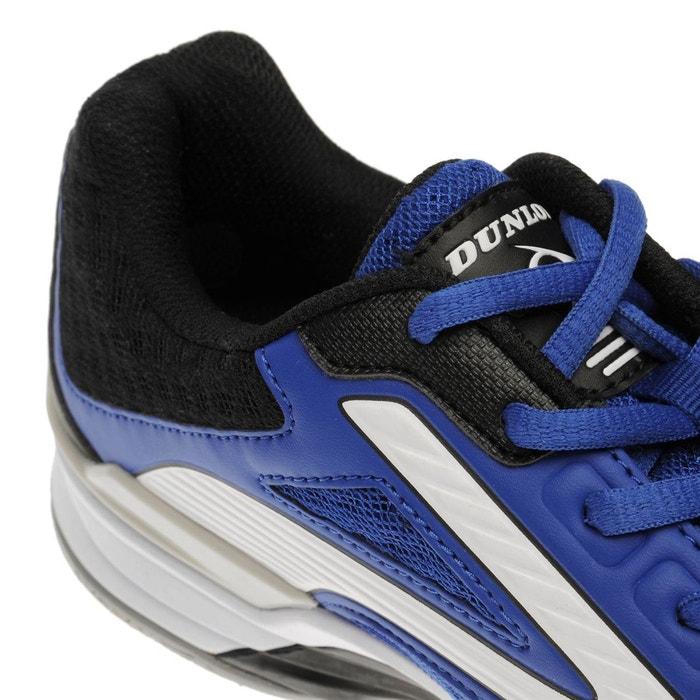 Chaussures de squash bleu-blanc Dunlop