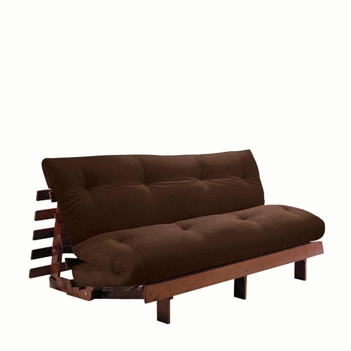 matelas futon confort soie cachemire latex marron chocolat la redoute interieurs la redoute. Black Bedroom Furniture Sets. Home Design Ideas