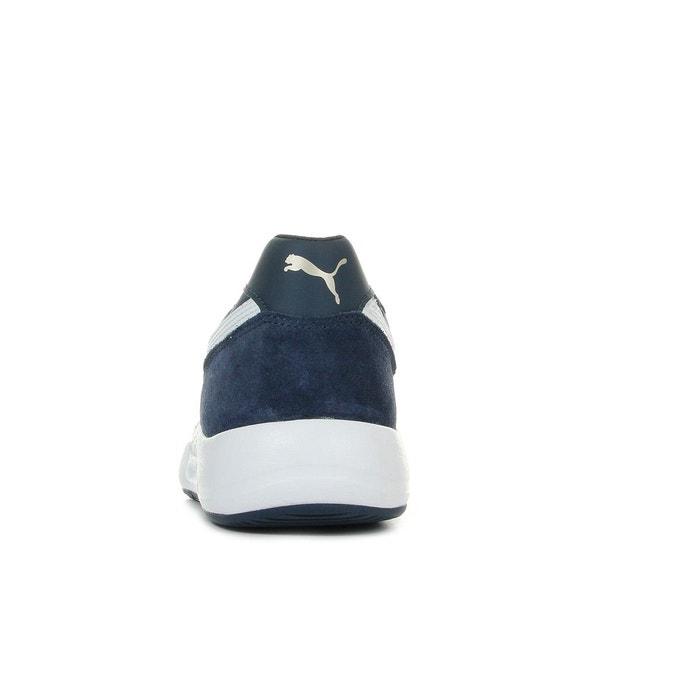 Baskets homme st runner plus limest bleu marine/blanc Puma