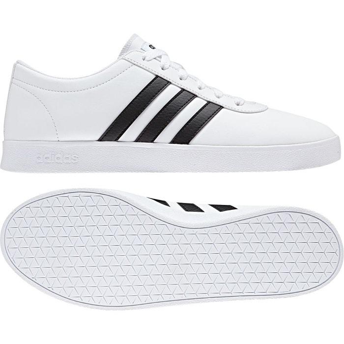 chaussure adidas noir blanc avec bande rouge