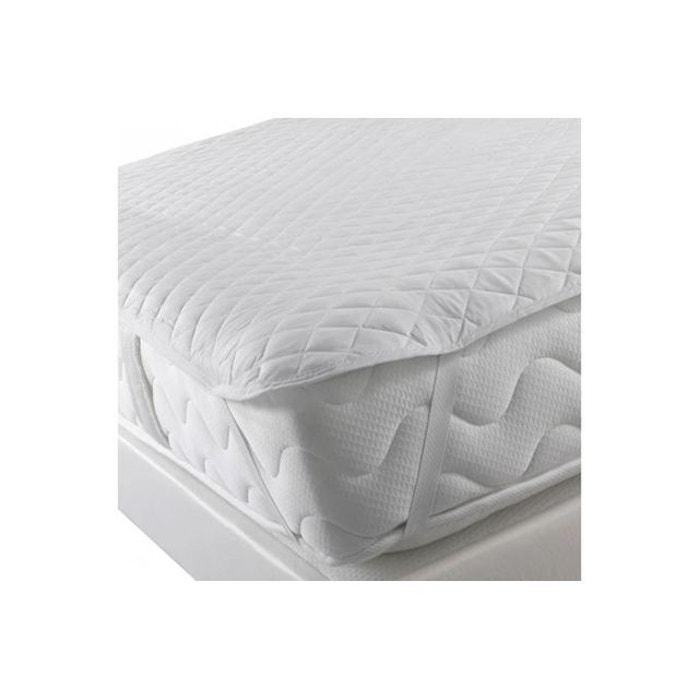 surmatelas avec elastiques 90x190 protection blanc declikdeco la redoute. Black Bedroom Furniture Sets. Home Design Ideas