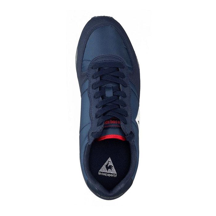 Baskets onyx nylon bleu Le Coq Sportif