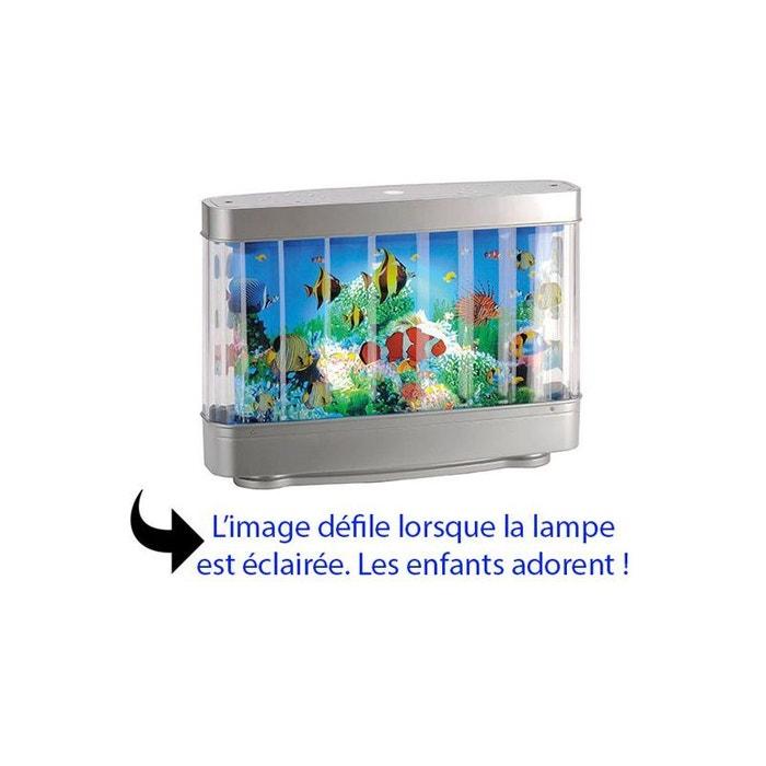 lampe de chevet originale led pour enfant aquarium d cor. Black Bedroom Furniture Sets. Home Design Ideas