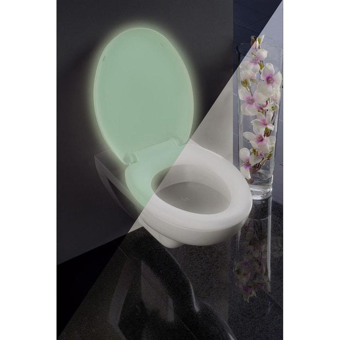 abattant wc fluorescent thermoplastique blanc wenko la redoute. Black Bedroom Furniture Sets. Home Design Ideas