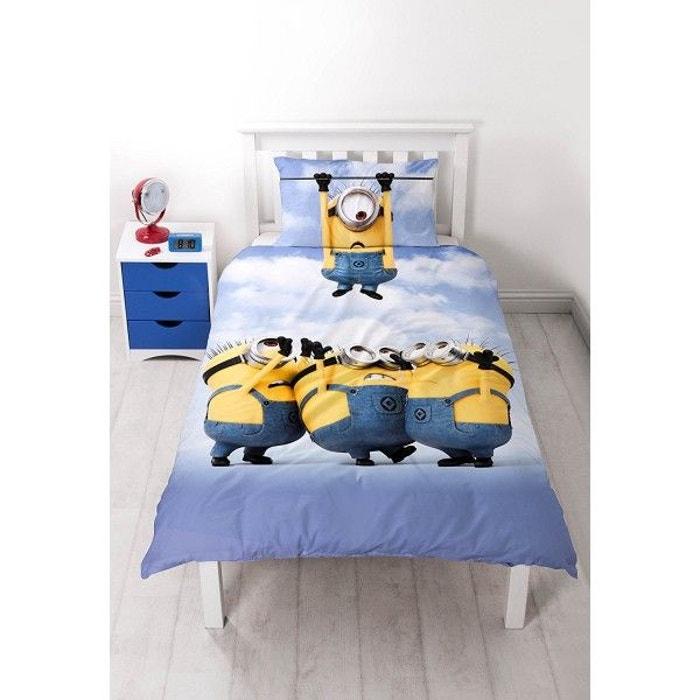 parure de lit les minions bello multicolore character. Black Bedroom Furniture Sets. Home Design Ideas