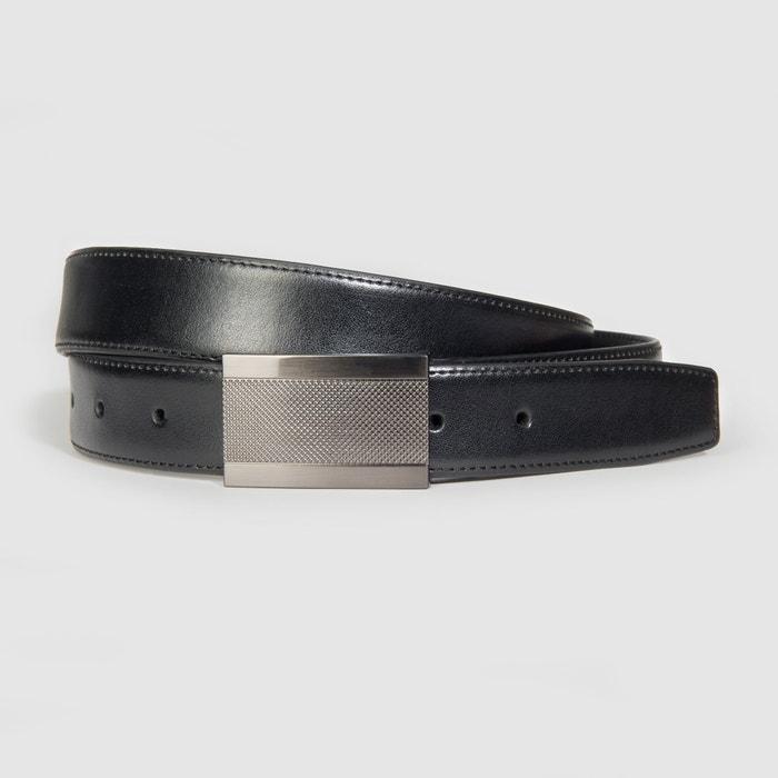 Image Faux Leather Belt CASTALUNA FOR MEN