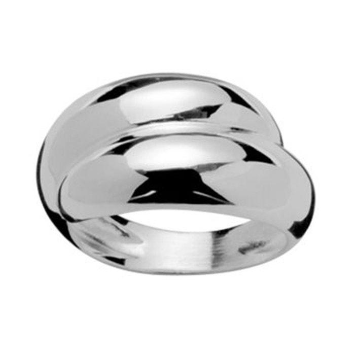 bague femme anneau double jonc argent 925 couleur unique so chic bijoux la redoute. Black Bedroom Furniture Sets. Home Design Ideas