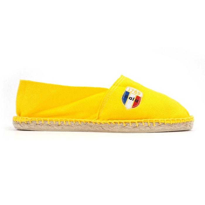 Espadrilles en toile soleil - made in france  jaune 1789 Cala  La Redoute