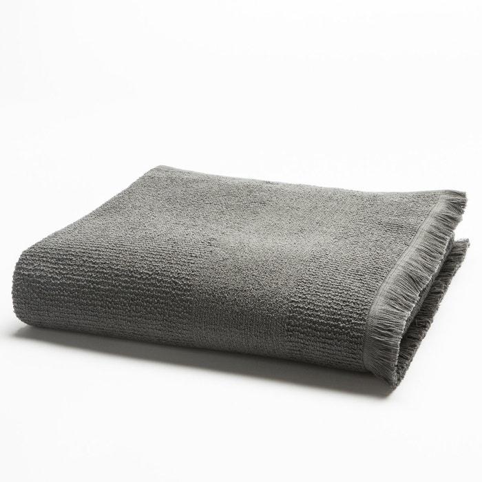 Image Asciugamano in spugna tessitura a chicco di riso 500 g/m² La Redoute Interieurs