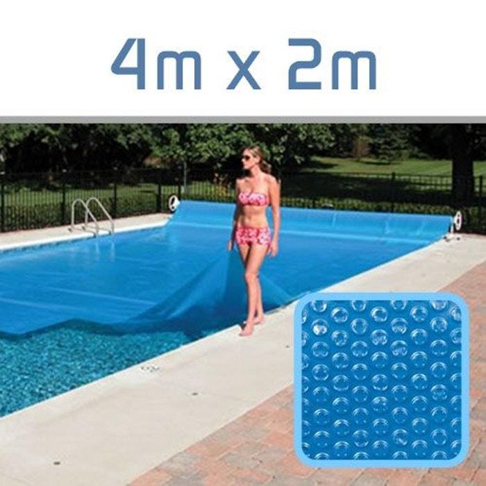 b che bulles 300 microns pour piscine 4m x 2m couleur. Black Bedroom Furniture Sets. Home Design Ideas