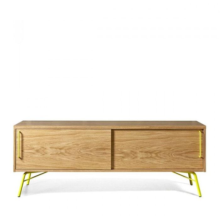 Meuble tv design bois et m tal ashburn woodman la redoute for Avis client meubles concept